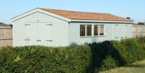 3.6 x 7.2m Timber Garage
