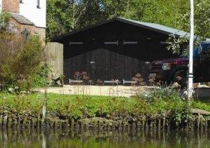 5.4 x 5.4m Timber Garage