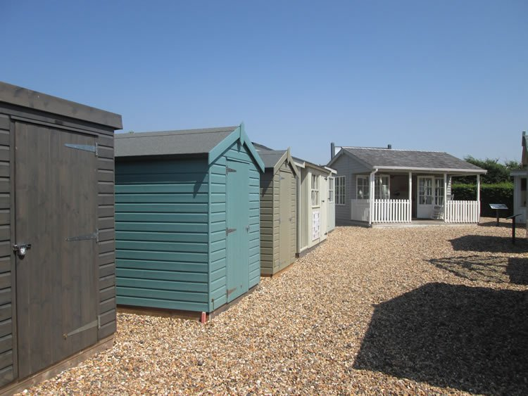 Shed showroom in sussex open 7 days for Garden sheds built on site
