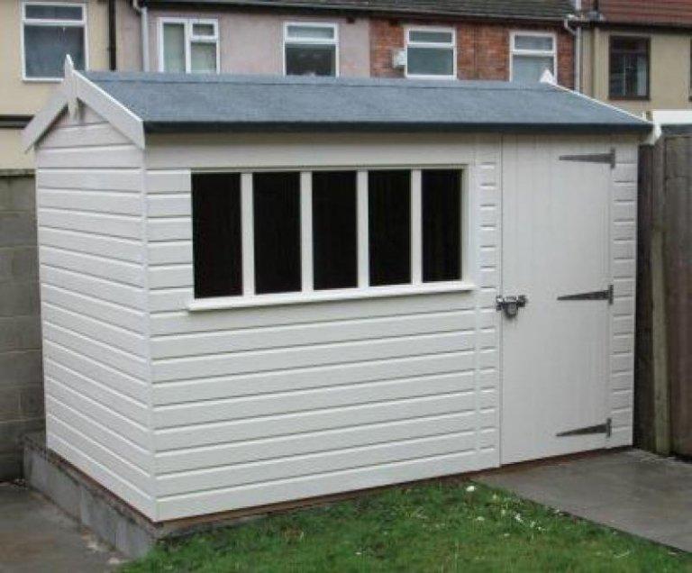 Windsor summerhouse in walton merseyside free delivery for Windsor garden studio