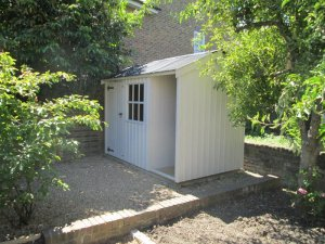 Blickling National Trust Shed in Chertsey: Front
