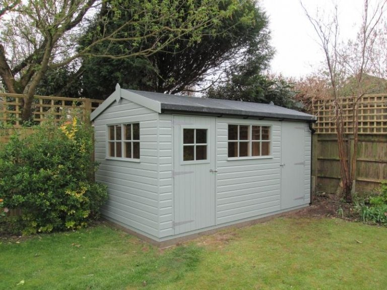 Superior Shed with a Partition - Lower Shiplpake