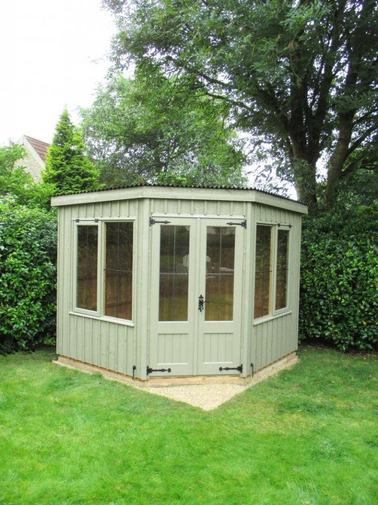 National Trust Orford Summerhouse with Corrugated Roofi