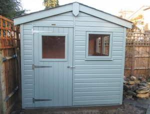 Superior Shed with Full Insulation: Front